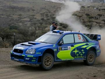 Petter Solberg Rally Mexico 2005