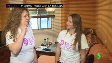 """Gitanas, monjas y múltiples asociaciones se suman a la huelga feminista con un grito unánime: """"No al machismo"""""""