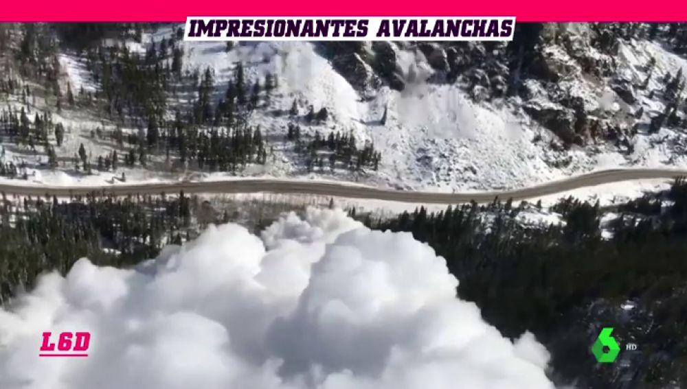 Avalanchas controladas, la última medida para evitar la ola de aludes en Colorado
