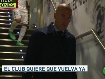 El Madrid le pide a Zidane que vuelva al Madrid