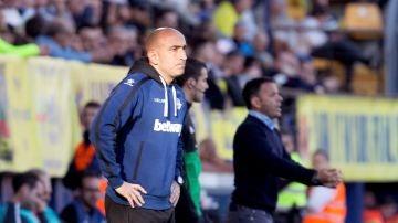 Abelardo, entrenador del Alavés