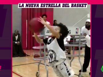 ¿El nuevo Stephen Curry? Un niño de un metro deja con la boca abierta a Estados Unidos