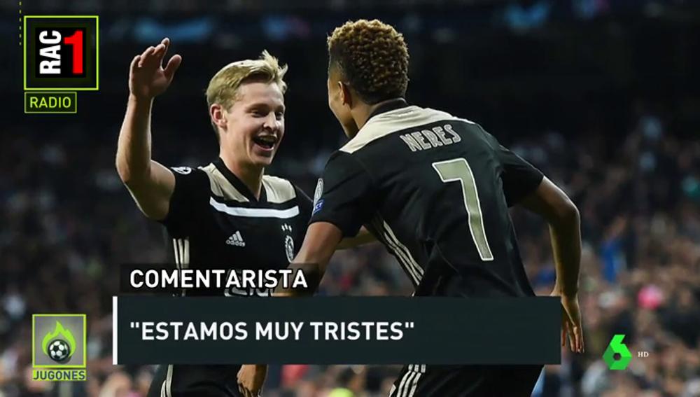 """Euforia en RAC1 tras la eliminación del Real Madrid: """"Estoy llorando ahora mismo"""""""