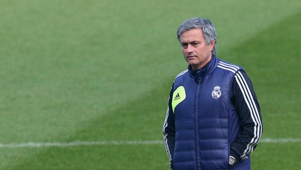 José Mourinho, durante su etapa como entrenador del Real Madrid