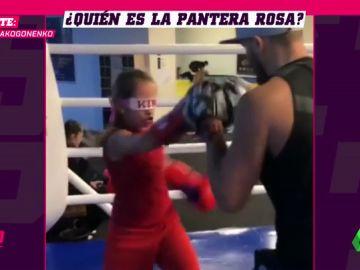 La pequeña 'Pantera Rosa' asombra al mundo con su entrenamiento extremo