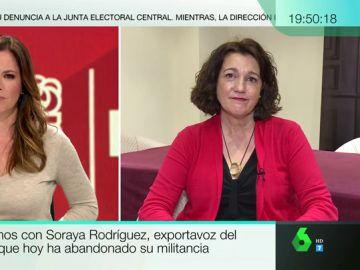 """Soraya Rodríguez, crítica con la gestión del conflicto catalán: """"Era lógico que ante una discrepancia tan grande el partido no contase conmigo"""""""