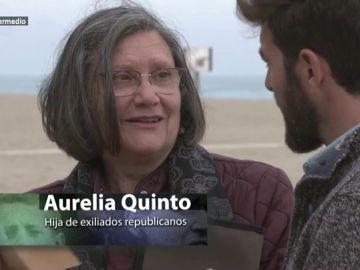 Aurelia Quinto, hija de exiliados republicanos