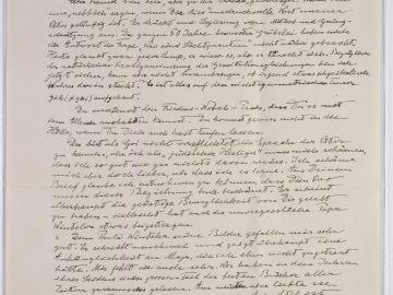 Publican más de 100 manuscritos de Einstein, entre ellos una carta en la que expresa a su hijo su preocupación por el nazismo