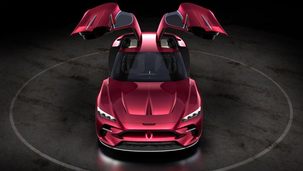 Este GT eléctrico ha sido presentado por Italdesign en Ginebra