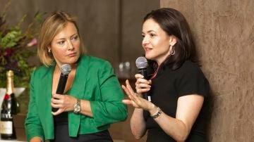 Sheryl Sandberg (derecha), Facebook