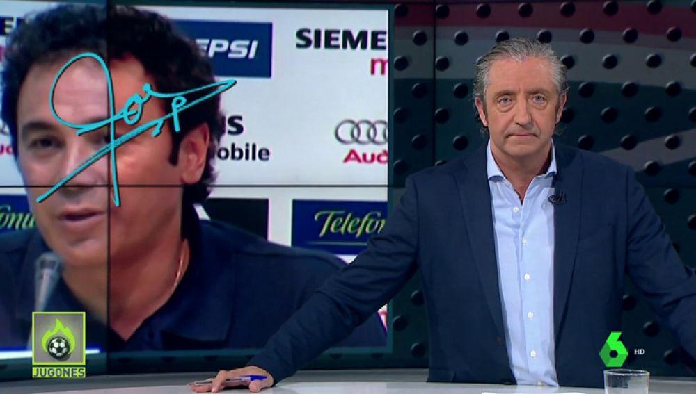 """Josep Pedrerol: """"Florentino, ficha a Hugo Sánchez si no tienes un plan mejor. Así a lo mejor los delanteros del Madrid aprenden a rematar"""""""