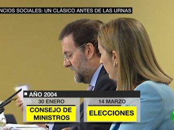 La hemeroteca, contra PP y Cs: todos los gobiernos usaron las ruedas de prensa previas a las elecciones para anunciar medidas