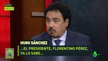 Hugo Sánchez se ofrece al Madrid