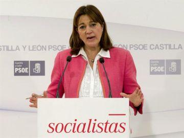 La exportavoz del grupo socialista en el Congreso de los Diputados Soraya Rodríguez