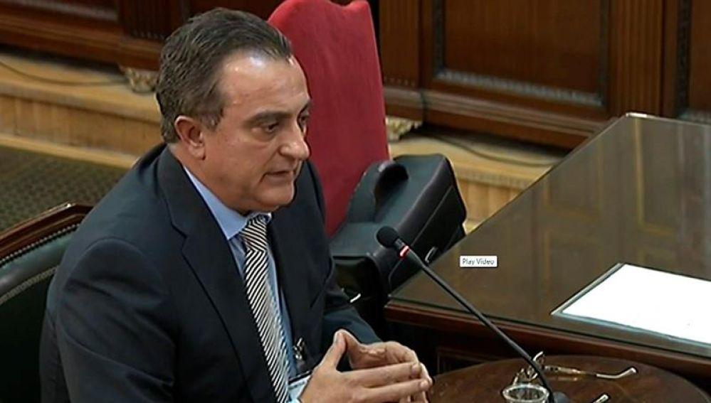 El comisario de los Mossos D'Esquadra, Manel Castellvi