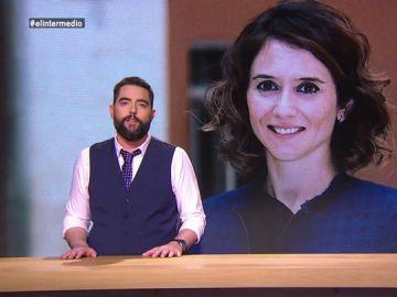 Dani Mateo desmonta los argumentos que utiliza Isabel Díaz Ayuso en contra del aborto
