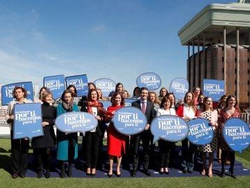 Un acto con candidatas autonómicas y municipales del PP con motivo Día Internacional de la Mujer.