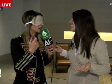 Bea Jarrín se somete a una prueba sensitiva con una de las únicas perfumistas a nivel mundial