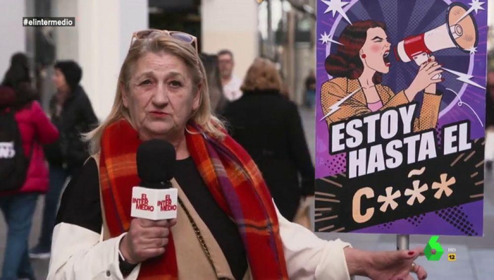 'Estoy hasta el coño' o como reivindican decenas de mujeres que el feminismo viene para quedarse