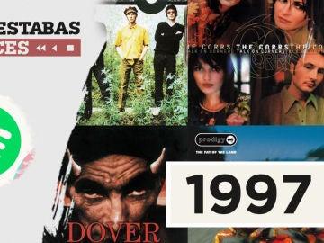 Lista reproducible: Elton John, Andrés Calamaro o Janet Jackson, entre los éxitos de Dónde estabas entonces 1997
