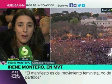 Irene Montero, en MVT
