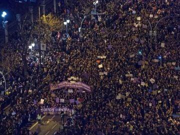 Huelga feminista 8M en Madrid