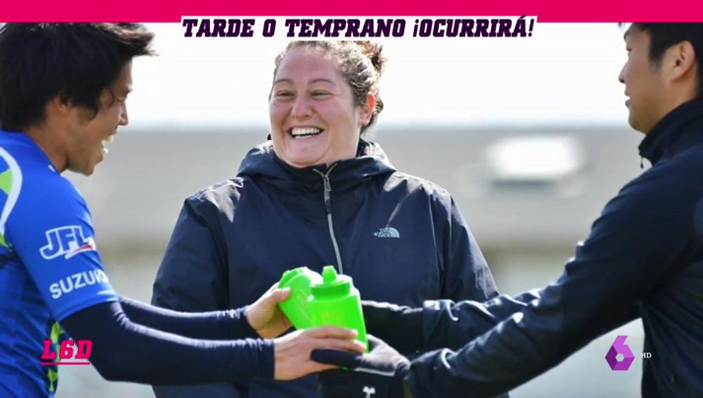 """Milagros Martínez, primera mujer entrenadora en un equipo masculino en Japón: """"En España sería muy difícil"""""""