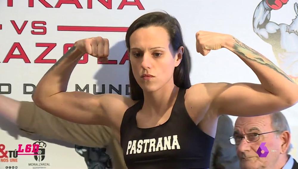 """Joana Pastrana: """"Entreno a veces más horas que un hombre y no se me recompensa igual"""""""