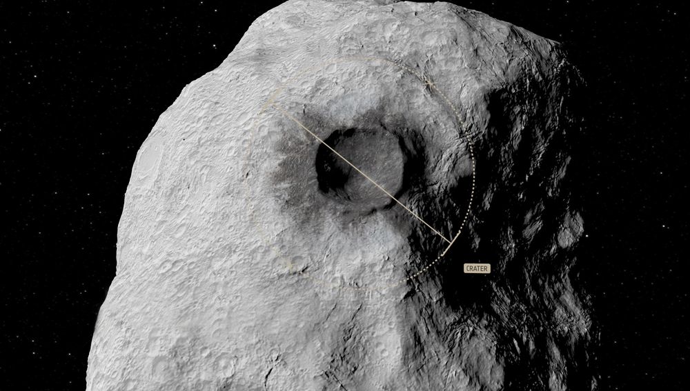 Una sonda de la ESA analizará los resultados del impacto de la nave DART de la misión AIDA