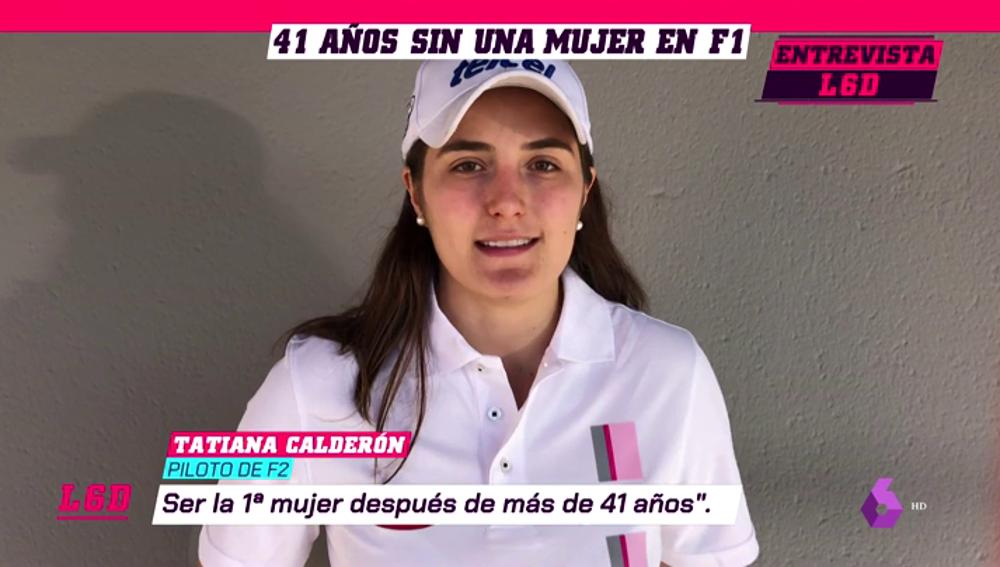 Tatiana Calderón, la mujer que puede romper el techo para las mujeres en la Fórmula 1 actual