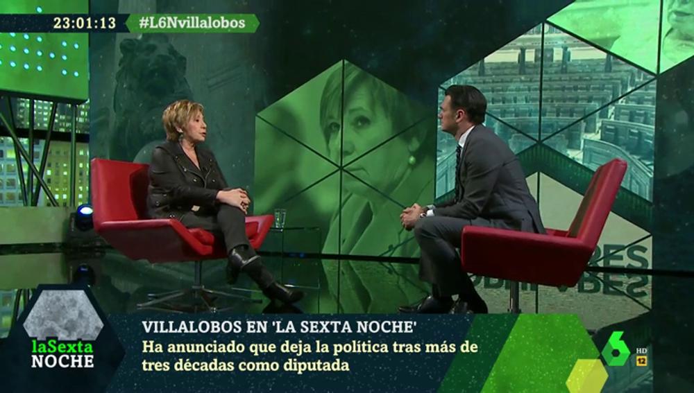 Celia Villalobos en laSexta Noche