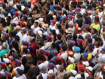 Imagen de manifestación en Venezuela