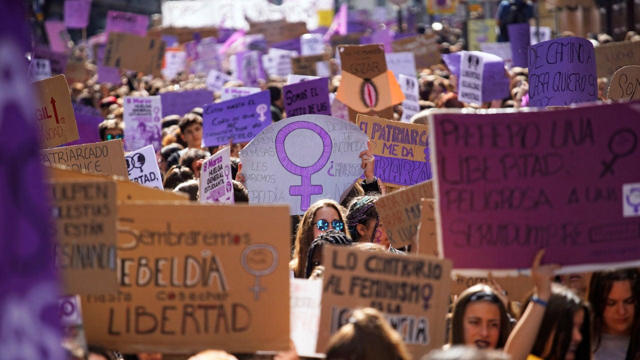 Manifestación feminista 8-M