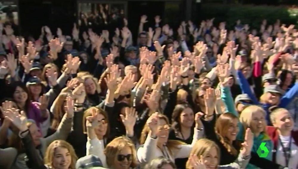 Barcelona acoge la caminata mundial de mujeres directivas