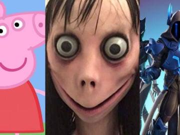 Momo aparece en Peppa Pig y Fortnite