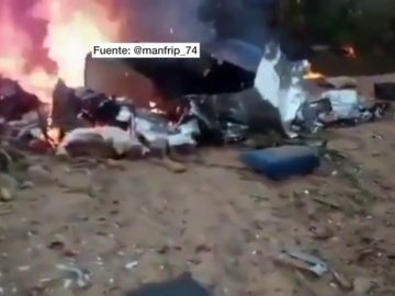 Accidente de avión