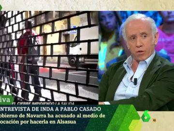 Eduardo Inda, en laSexta Noche