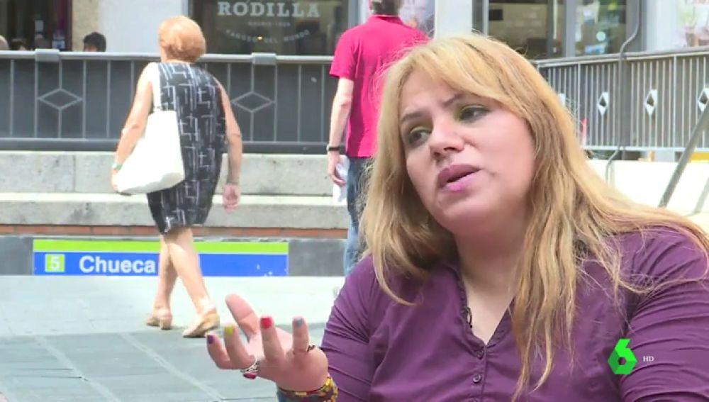 Fabiana Castro, mujer transexual