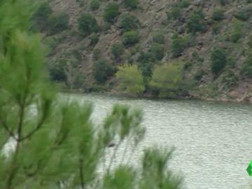 Imagen del pantano de Boadella, Girona, donde fue encontrado el cadáver de un hombre