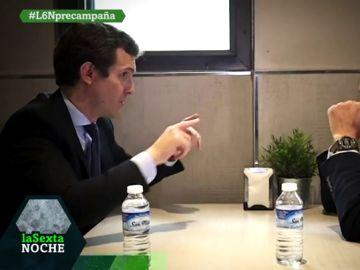 Pablo Casado responde a Eduardo Inda