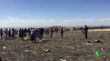 Dos españoles entre los 157 muertos del avión siniestrado en Etiopía