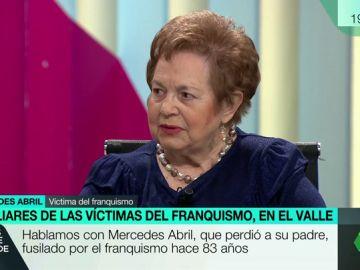 """Habla la hija de una de las víctimas del franquismo: """"¿Para qué llevaron a Franco al Valle, para vigilar a los muertos y que no se escapasen?"""""""