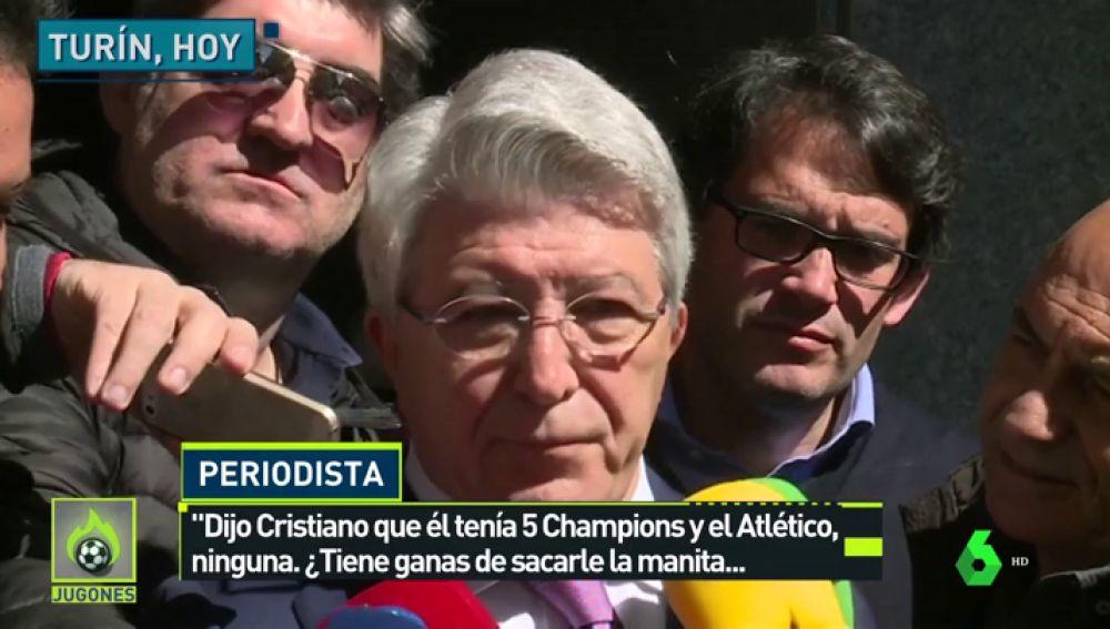 """Cerezo: """"No todos tienen la suerte de tener las Champions que tiene Cristiano Ronaldo"""""""
