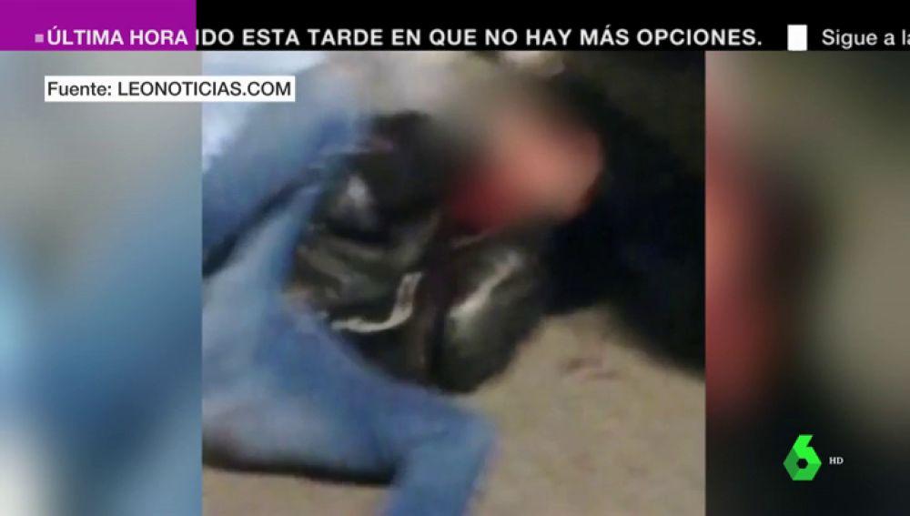 Investigan la agresión extremadamente violenta de varias personas a un joven en León