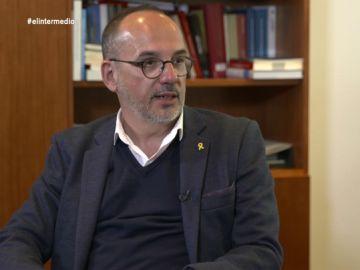 """Carles Campuzano: """"Los que defendemos un soberanismo tranquilo y con vocación de utilidad no estamos en las listas"""""""