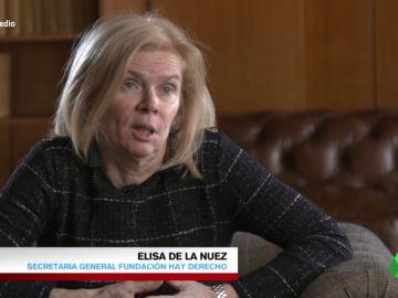 """Elisa de la Nuez, sobre las puertas giratorias: """"Cuando estas personas pasan a las empresas no es por su perfil profesional"""""""