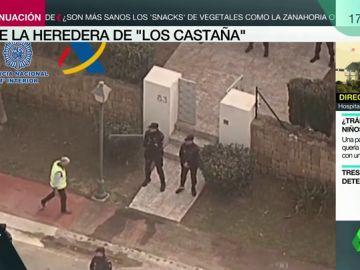 La Policía detiene a la pareja sentimental del líder del clan de 'los Castaña'