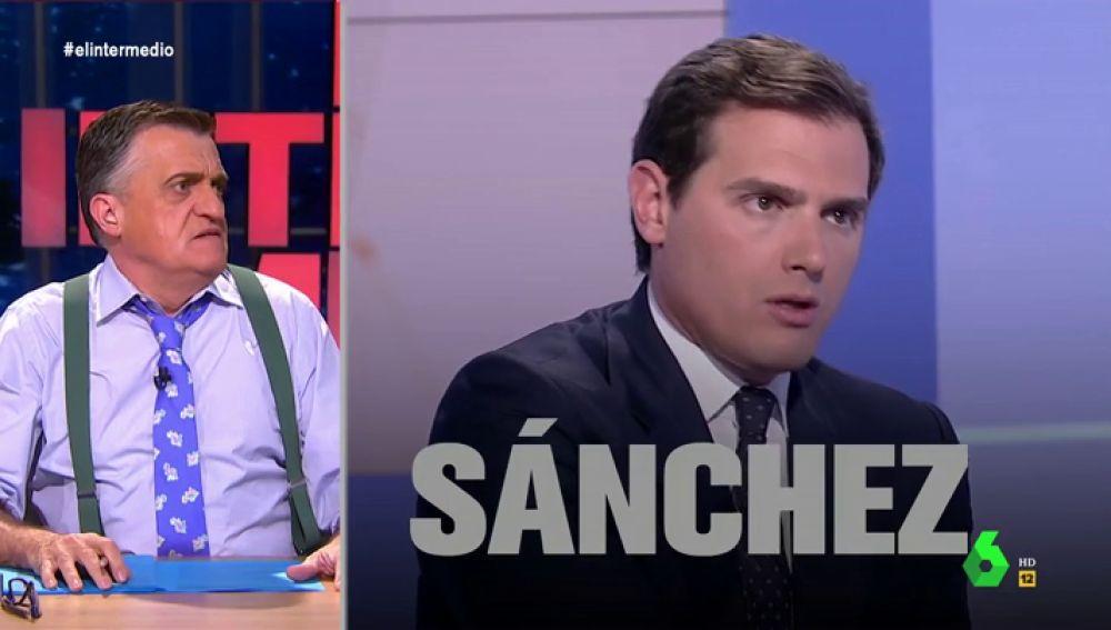 ¿Estrategia u obsesión? Esta es la razón por la que Albert Rivera no para de nombrar a Pedro Sánchez