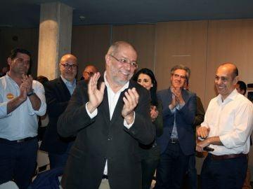El candidato de Ciudadanos a la Presidencia de la Junta de Castilla y León, Francisco Igea