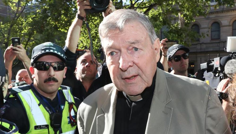 El cardenal australiano George Pell